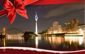Christmas greetings from Düsseldorf